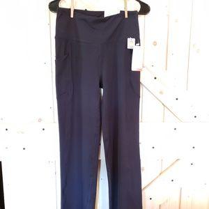 """Marika Women's 29"""" Pocket Yoga Pants - Black - (L)"""